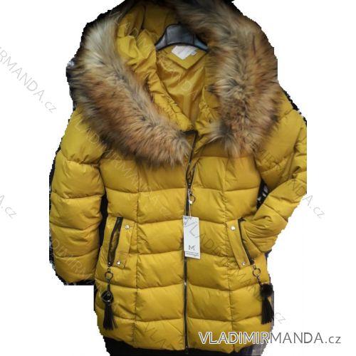 4a5629f377 Kabát dlhý zimný dámsky (m-2xl) Poľsko MODA PM2181818