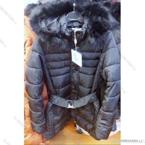 Kabát dámsky krátky zimný (s-3XL) TALIANSKÁ MÓDA IM418764 ... 331122fbafc