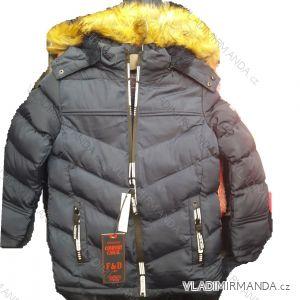 Bunda zimní dětská dorost chlapecká (4-12let) NATURE TM218L-119