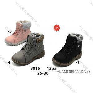 63af4035c Topánky členkové s kožušinkou detské dorast dievčenské (25-30) OBUV  OB2183016
