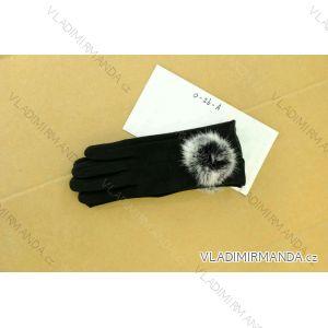Rukavice semišové dámské (uni) TAT 0-26-AT