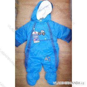 Kombinéza zimní nepromokavá šusťáková kojenecká a dětská dívčí a chlapecká (9-12m) PENG MING TM21825