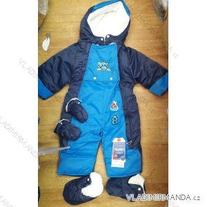 Kombinéza zimní nepromokavá šusťáková kojenecká a dětská dívčí a chlapecká (24-30m) TM21826