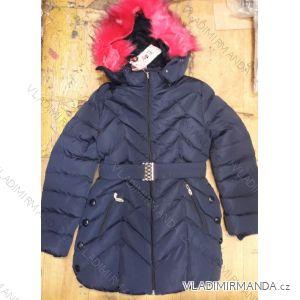 Kabát zimní dětský a dorost dívčí (4-12 let) SAD CCL18KF-58