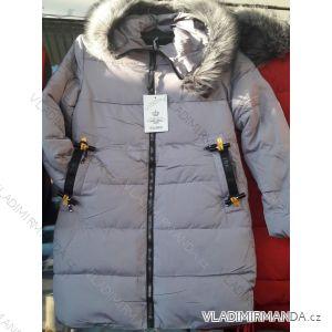 Kabát zimní prošívaný s kožíškem dámský (s-xl) POLSKO IM10186666