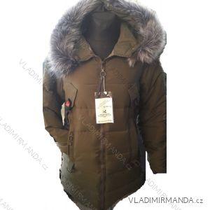 Kabát parka zimní prošívaný s kožíškem dámský (s-xl) POLSKO IM1018T2662Y