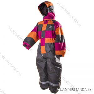 Kombinéza dětská zimní nepromokavá dívčí (98-128) PIDILIDI PD1040-01