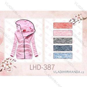 Mikina teplá prodloužená dámská (s-2xl) LHD FASHION LHD-387