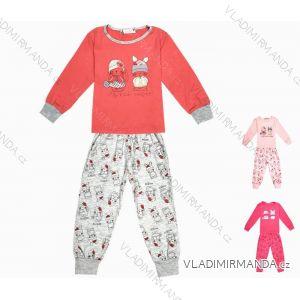 Pyžamo dlouhé kojenecké dětské dívčí (86-110) KUGO ML7090