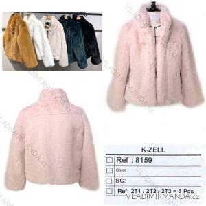 Kabátek krátký teplý měkoučký zimní dámský (s-l) KZELL ITALSKá MODA 8159K