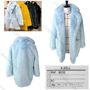 Kabátek krátký teplý měkoučký zimní dámský (s-l) KZELL ITALSKá MODA 8032K