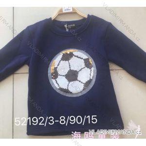 Mikina tričko teplé dětská a dorost chlapecká  (3-8 let) SEAGULL 52192/DA