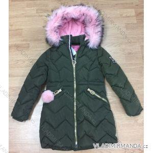 Bunda zimní dorost dívčí dětská (8-16 let) SEZON HK904