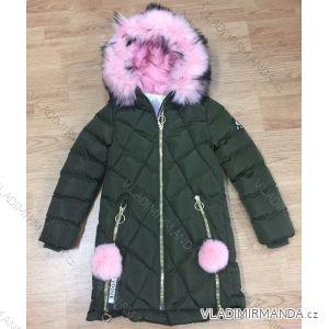 Bunda zimní dorost dívčí dětská (8-16 let) SEZON HK907