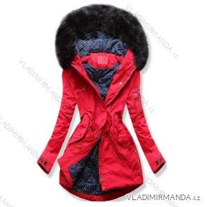Kabát parka dámska teplá s kožušinkou LHD fashion (s-xl) LHD-Q-32