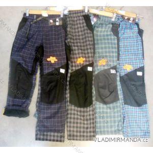 Kalhoty plátěné outdoorové teplé flaušová podšívka dorost (134-164) NEVEREST FT-4991C