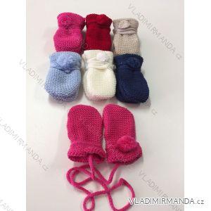 Rukavice palčáky se šňůrkami dětské dívčí (8cm) PV118165