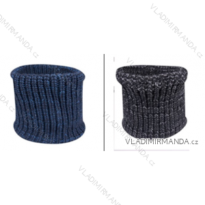 Nákrčník zimní stahovací pletený dětský dorost chlapecký (one size) YO! GL-43
