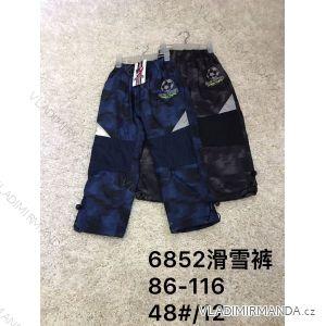Kalhoty/tepláky zateplené kojenecké dětské chlapecké (86-116) ACTIVE SPORT ACT186852