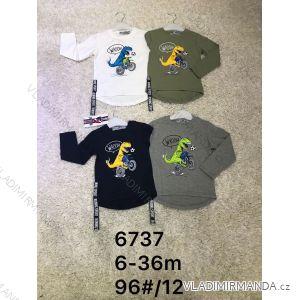 Tričko dlouhý rukáv teplé kojenecké dětské chlapecké (6-36 měs.) ACTIVE SPORT ACT186737