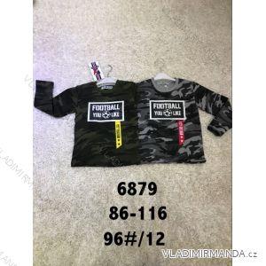 Tričko dlouhý rukáv teplé maskáčové kojenecké dětské chlapecké (86-116) ACTIVE SPORT ACT186879