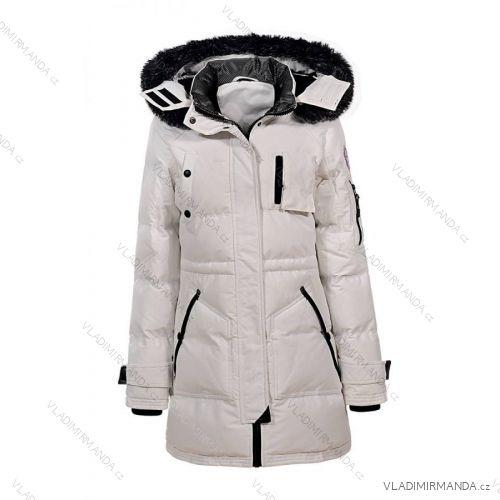 Kabát zimné prešívaný s kožušinkou dámsky (s-xl) GLO-STORY WMA-6426 ... f3eee76dc0