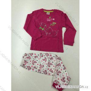 Pyžamo dlouhé dětské dívčí (104-134) ANGEL BIRD PV118169