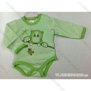 Body dlhý rukáv dojčenské dievčenské a chlapčenské (56-104) KAY PV118172