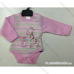 Body dlhý rukáv dojčenské dievčenské a chlapčenské (56-104) KAY PV118173