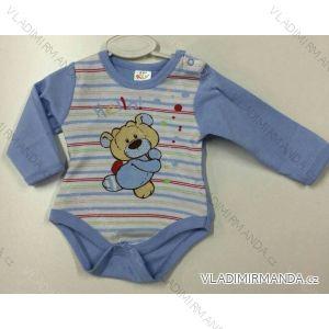 Body dlhý rukáv dojčenské dievčenské a chlapčenské (56-104) KAY PV118174