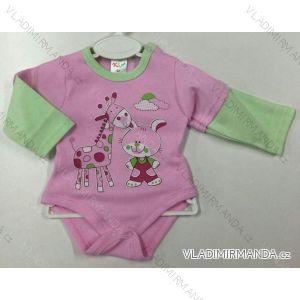 Body dlhý rukáv dojčenské dievčenské a chlapčenské (56-104) KAY PV118176