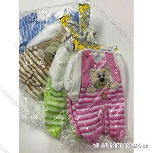 Komplet (dupačky, mikina) kojenecký dívčí a chlapecký (0-12 měsíců) SOFA TURECKO PV118178