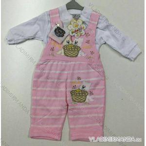 Komplet (lacláče, kabátek) kojenecký dívčí a chlapecký (62-68) BEBEKO TURECKO PV118180