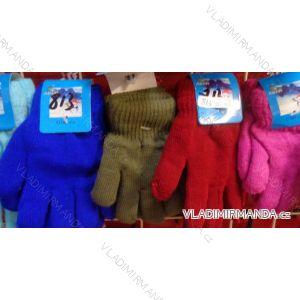 Rukavice prstové dětské dívčí a chlapecké (3-8 let)JIALONG JIA18813