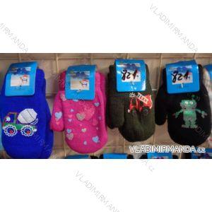 Rukavice palčáky teplé dětské dívčí a chlapecké (3-8 let) JIALONG JIA18821