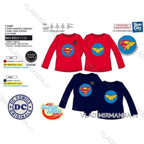 788bccd1e Tričko flitr dlhý rukáv superman detské chlapčenské (3-8 rokov) SUN CITY  RH1392