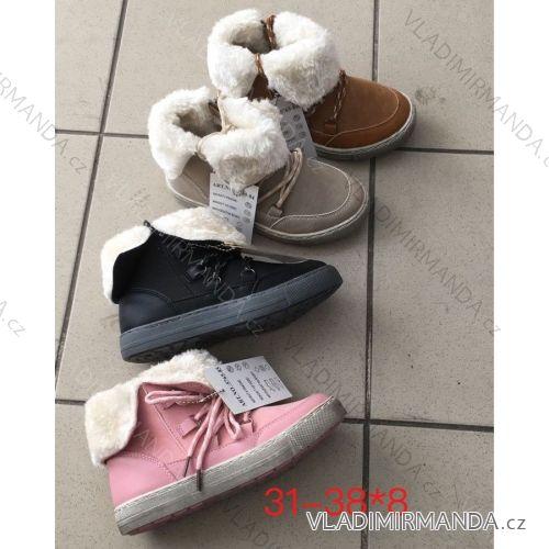 Topánky zimné členkové detské dorast dievčenské a chlapčenské (31-38) OBUV  OBT18246 ee31eac067b
