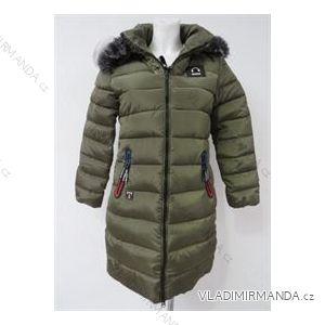 Kabát zimní prošívaný s kožíškem dámský (m-2xl) POLSKá MóDA LEU18ZIYO2