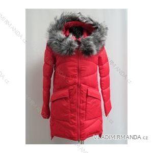 Kabát zimní prošívaný s kožíškem dámský (s-2xl) POLSKá MóDA LEU187825