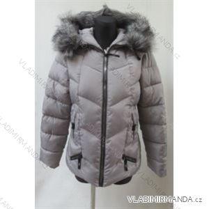 Bunda zimní prošívaná s kožíškem dámská (s-2xl) POLSKá MóDA LEU180610H606