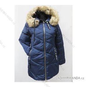 Kabát zimní prošívaný s kožíškem dámský (s-2xl) POLSKá MóDA LEU180810KL161