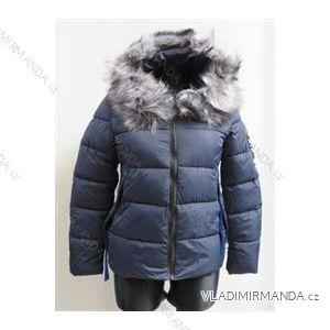 Bunda zimní prošívaná s kožíškem dámská (s-xl) POLSKá MóDA LEU18TY006