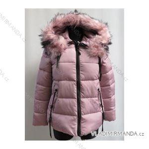 Bunda zimná prešívaná s kožušinkou dámska (s-2xl) Poľsko moda LEU1806552