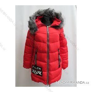 Kabát zimné prešívaný dámsky s kožušinkou (m-2xl) Poľsko moda LEU181625