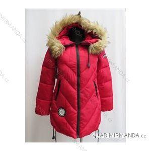 Kabát zimné prešívaný dámsky s kožušinkou (m-2xl) Poľsko moda LEU1809H658