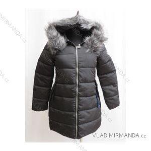Kabát zimné prešívaný dámsky s kožušinkou (m-2xl) Poľsko moda LEU1809H1733