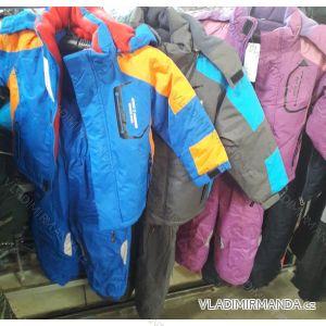 Souprava bunda a oteplovačky zimní dětská dívčí a chlapecká (98-128) QUIFENG AOL18X0410