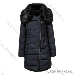 Kabát parka s kapucí zimní dámská prošívaná polstrovaná (m-2xl) GLO-STORY WMA-6726