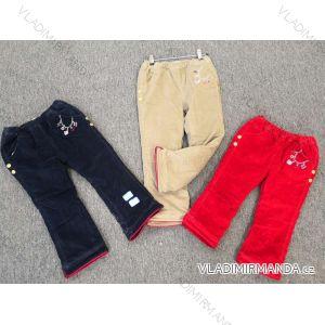 Kalhoty kojenecké dívčí  (80-120) AODA AOD18008