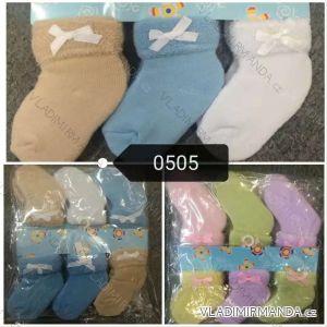 Ponožky teplé kojenecké (one size) AODA AOD180505